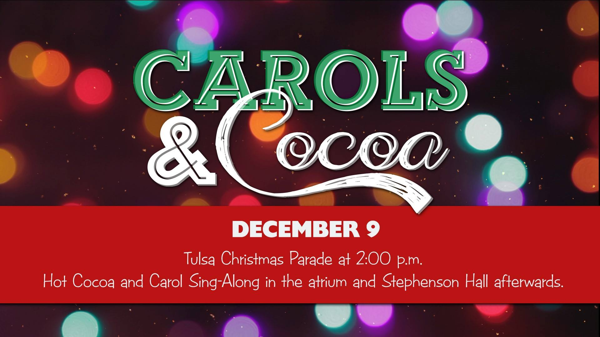 carols cocoa tulsa christmas parade